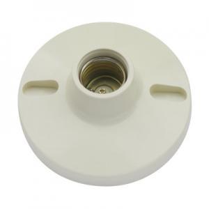China Custom Electric Light Bulb Holders , Household Plastic Screw Lamp Holder on sale