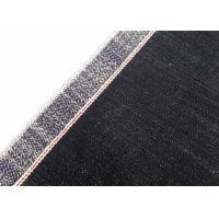 15.7oz 100% Cotton Selvedge Denim Fabric Jeans Vintage Style White Line W91131
