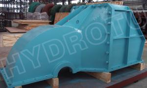 China Pelton Water Turbine / Pelton Hydro Turbine With Forged CNC Wheel For 530m Head Hydropower Station on sale