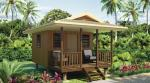 China Wooden fast assemble light steel frame Beach Bungalows