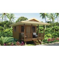China Quick Assemble Light Steel Guage Frame Prefab Home Beach Customized Bungalows on sale