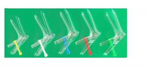 China French Type Disposable Sterile Vaginal Speculum With Middle Stick on sale