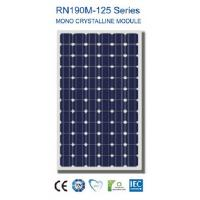190Watt New Nano Coating & Self Cleaning Solar PV Panel