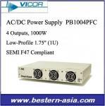 Venda la fuente de alimentación discreta de VICOR 4-Output 1000W AC-DC PB1004PFC