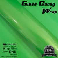 Gloss Candy Lime Green Vinyl Wrap Film - Gloss Lime Green