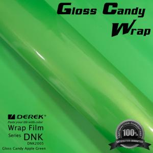 China Gloss Candy Lime Green Vinyl Wrap Film - Gloss Lime Green on sale