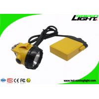 China 25000lux high beam corded caplamp Anti-explosive IP68 water-proof head light on sale