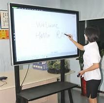 China 75 / 65 Inch Classroom Smart Boards , High Definition Digital Interactive Whiteboard on sale