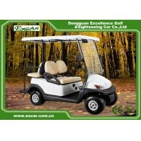 China Comfortable EXCAR Golf Power Carts , Battery Operated Golf Buggy With 2 Seater on sale