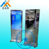 42 Inch Touch Screen Mirror Bathroom Table Stand Magic Mirror With Motion Sensor