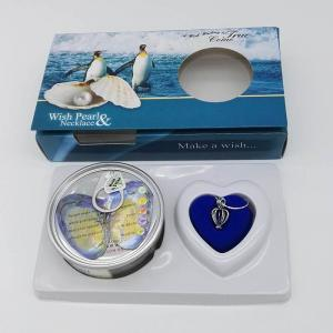 China Perfect Freshwater Pearl Jewelry Gift-Wish Pearl Gift Necklace Set with Color Box Packing on sale