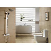 China Solid Brass Thermostatic Rain Shower System ROVATE For Bathroom And Hotel on sale