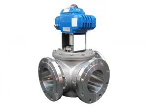 China Custom Double Flanged Butterfly , DN25 T304 Stainless Steel Sanitary Flanged Ball Valve on sale