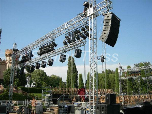 Applicationto Hang Lightingspeakerled And So On Aluminum Truss