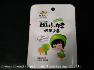 China Heat Sealable Food Packaging Plastic Bags Aluminum Lamination For Gummy Candy on sale