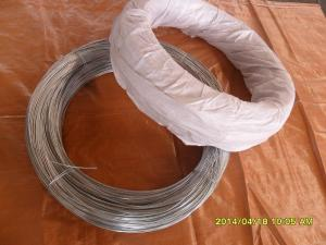 China 24# hot dip galvanized steel wire on sale