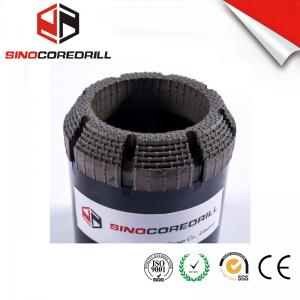 China Face Discharge Step Natural Diamond Core Bit HQ3 Surface Set Drill Bits on sale