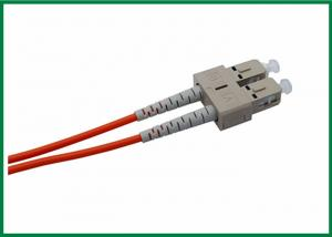 China Simplex Duplex SM MM Fiber Optic Patch Cord Pigtail Cable with PVC LSZH Armored Jacket on sale