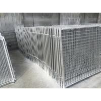 China Long Life Custom Galvanized Steel Wire Garbage Cage , Professional Waste Cage on sale