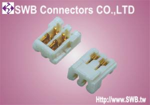 China IDC Socket Connector Wafer , Female 1.0mm Pitch Wire to Board Conn on sale