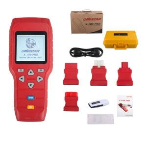 China OBDSTAR X-100 PRO Auto Key Programmer (C+D) Type for IMMO + Odometer + OBD Software Support EEPROM Function on sale