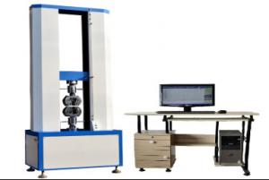 China 4.4KW 150KN Dual Arm Computer Servo Tensile Strength Test Equipment on sale