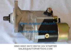 China Brand New EH700 Starter Motor For Hino FD FF Early HO6C HO7C 24V on sale