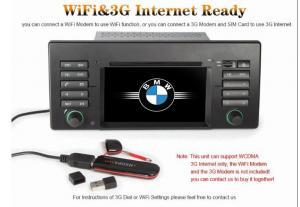 China Ayuda de sistemas del DVD del coche de los reproductores de DVD E39 X5 E53 M5 de BMW de la radio de coche I-GO/mapa TomTom on sale
