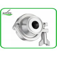 China Pharmaceutical Sanitary Stainless Steel Check Valve With Acid And Corrosion Resistance on sale