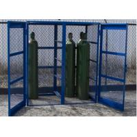 Customized Sizes / Colors Metal Gas Cylinder Cages Easy Install 800*900*430mm