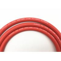 "5 / 16"" Inch W.P 300PSI Red Smooth Surface Rubber Air Hose / Pipe  for LPG gas"