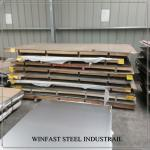 POSCO  409L / 409 Stainless Steel Sheet Cold Rolled 2440mm Length 2D Surface
