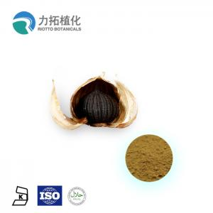 China Antibacterial Sterilization Pure Plant Extracts Black Garlic Extract Brown Powder on sale