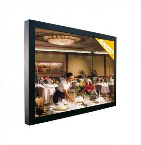 China 50 Inch Wall Mounted Professional 4K LCD Monitor  3840x2160 DP / RS232 / VGA LCD Screens on sale