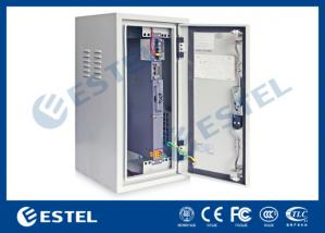 China Heat Insulation Outdoor Wall Mounted Cabinet , Base Station Cabinet IP55 on sale