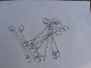 China Double Loop Tie Wire/Loop Rebar Ties on sale