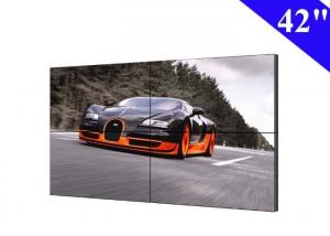 China Full HD 2X2 DID video wall 42 inch lcd with 22mm screen bezel tv walls on sale