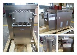 China Small capacity New Condition Industrial Food Homogenizer 500 L/H 4 KW on sale