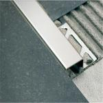 OEM stainless steel floor tile trim wall trim with Brushed or mirror surface