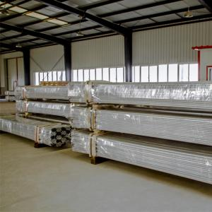 China Aluminum Rigid Conduit Pipe UL6a Standard NPT Thread Haimei Manufacture Rigid Electrical Metallic Aluminum Conduit Tubin on sale