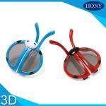 Circular do risco das crianças a anti polarizou os vidros 3D para o uso dos muitos tempos