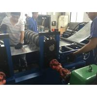 China 8 M / Min Cable Tray Rolling Forming Machine 80 - 600mm Profile Width Around 20 Tons on sale