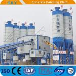 2x55KW HZS180 Ready Mixed Concrete Batching Plant