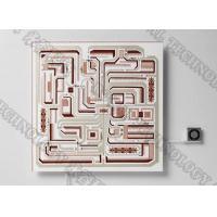 High Brightness LED Lighting DPC Ceramic Vacuum Coating , Al2O3 / AlN Circuit Boards PVD Copper Plating