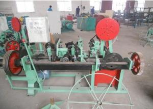 China Double Twisted / Single Twisted Barbed Wire Machine Multi Function Low Noise on sale