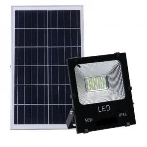 China IP67 High Lumen Outdoor LED Flood Light With Power Display , 200w Solar Flood Light on sale