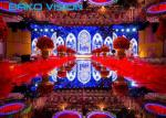 1200 Nits 4.81mm Pixels Indoor Full Color Led Display Screen For Wedding Video Wall