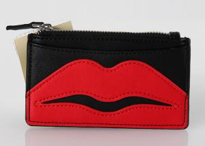 China Clear Vinyl Fashion Travel Cosmetic Bag , Small Plastic Makeup Bags With Lip Logo on sale