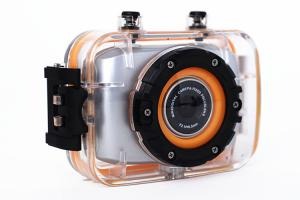 China Waterproof Mini Action Video Cameras / Outdoor Sports Photography Camera 2 Inch Touch Screen on sale