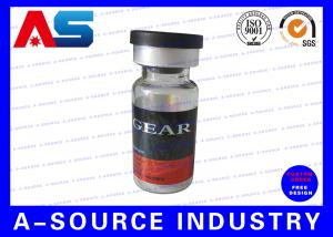 China Steroid Vial Labels Of 10ml Glass Vials , Custom Steroid Sticker Printing on sale